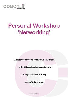 Personal Workshop - Networking _ coach_i