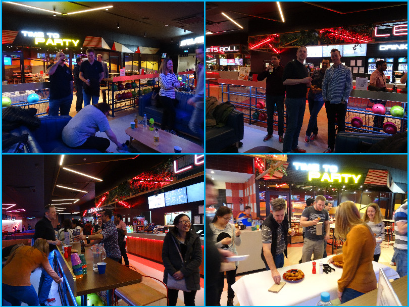 4 pictures for the bowling events