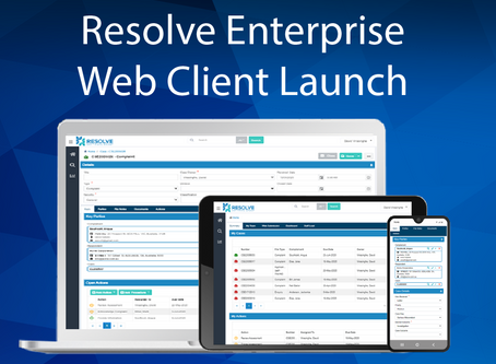 Introducing the Resolve Enterprise Web Client