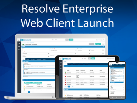 Introducing the Resolve Enterprise Web Client