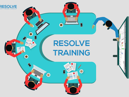 Resolve Training - Be an Expert in Your Resolve Solution