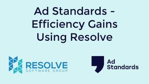 Ad Standards - Efficiency Gains Using Resolve