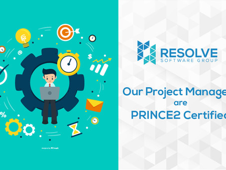 RSG Project Managers are PRINCE2 Certified and Follow Agile Methodology