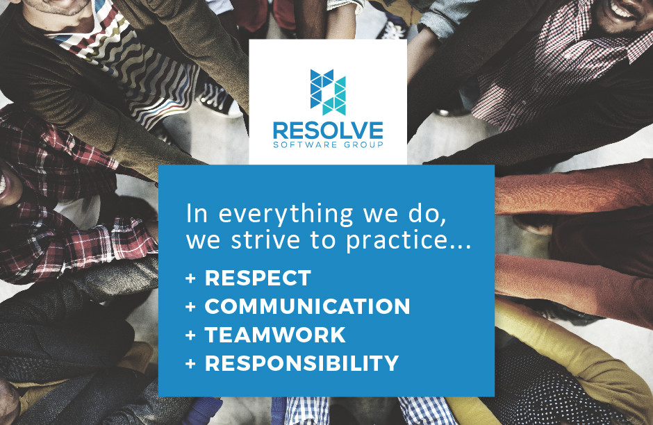 RSG Updated Values - Respect, Communication, Teamwork, Responsibility