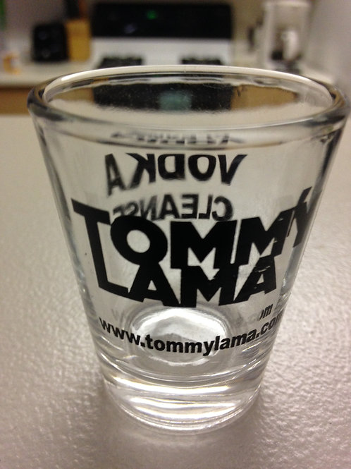 Tommy Lama Vodka Cleanse Shot Glass
