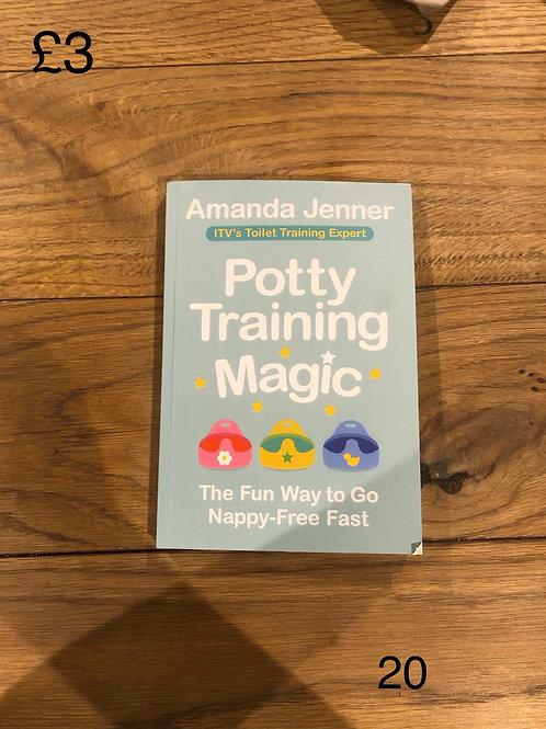 Potty Training Magic Book