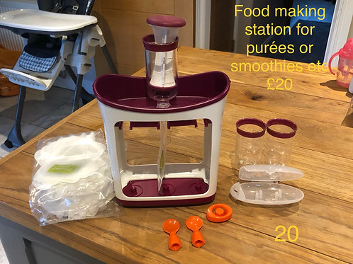 Food making station