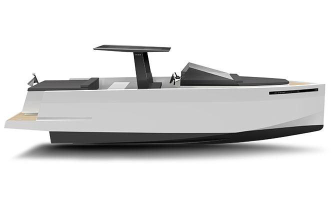 De Antonio Yachts_D33 Cruiser_Perfil_01