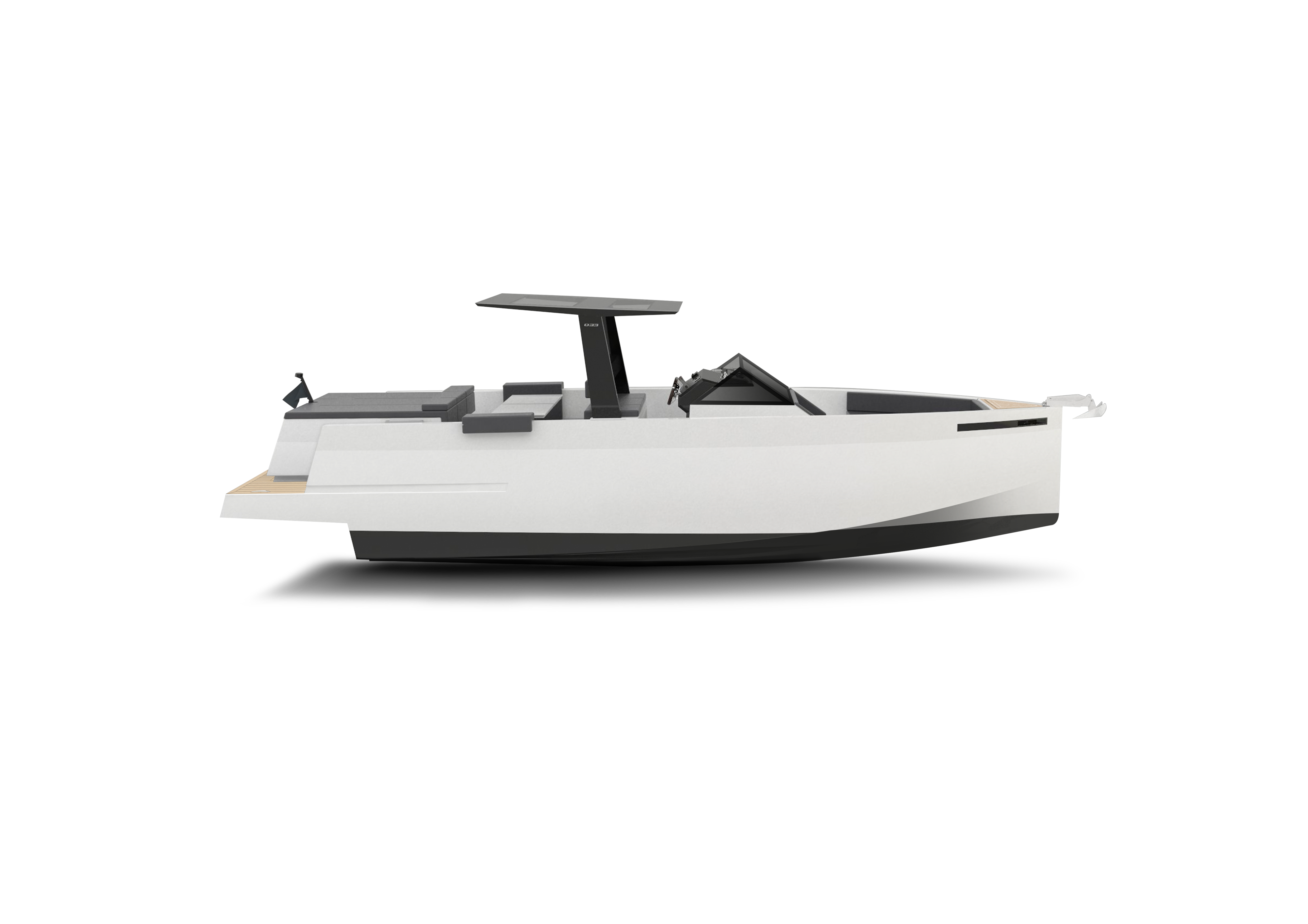 De Antonio Yachts_D33 Open_Perfil_01
