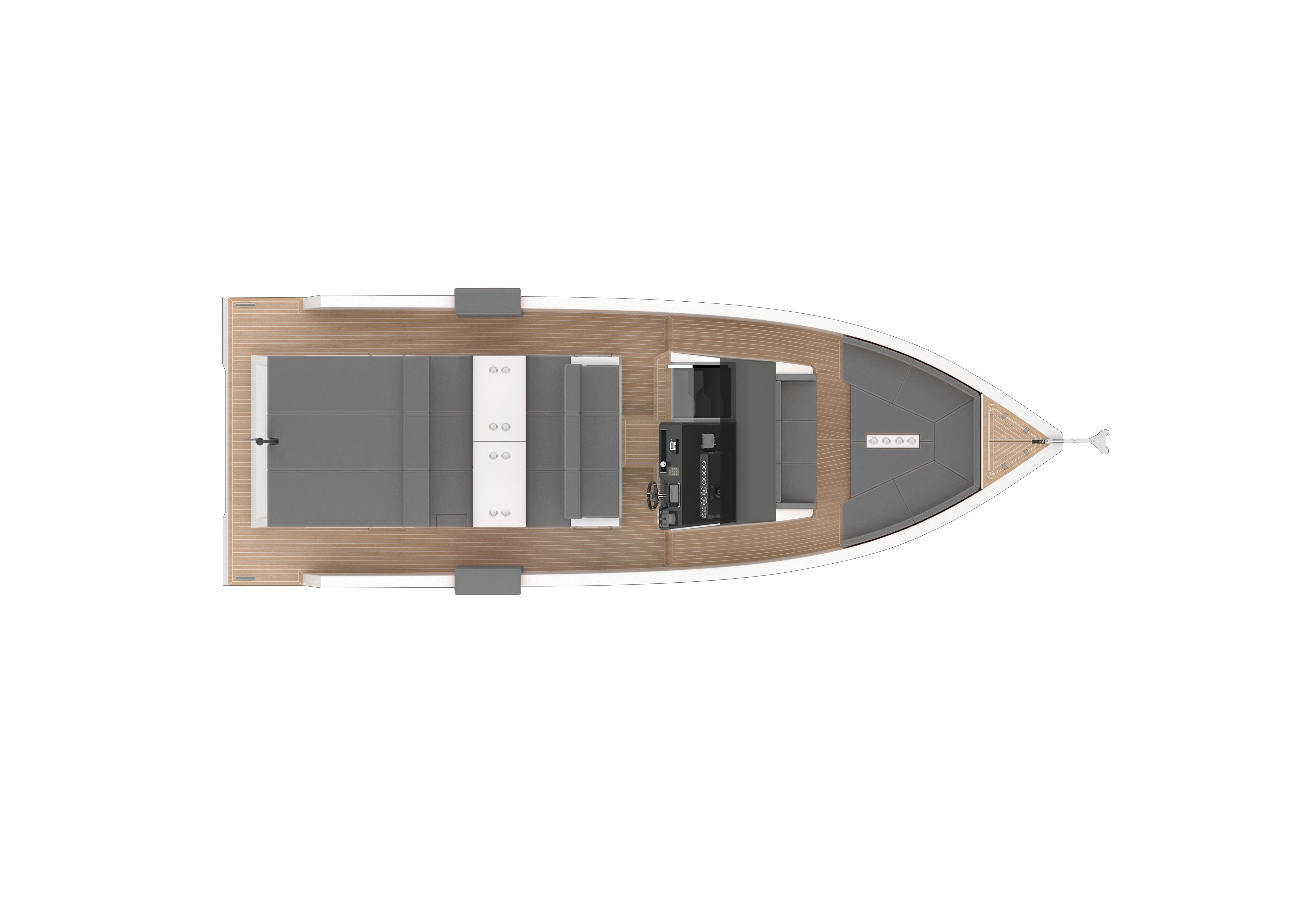 De Antonio Yachts_D33 Open_Planta_01