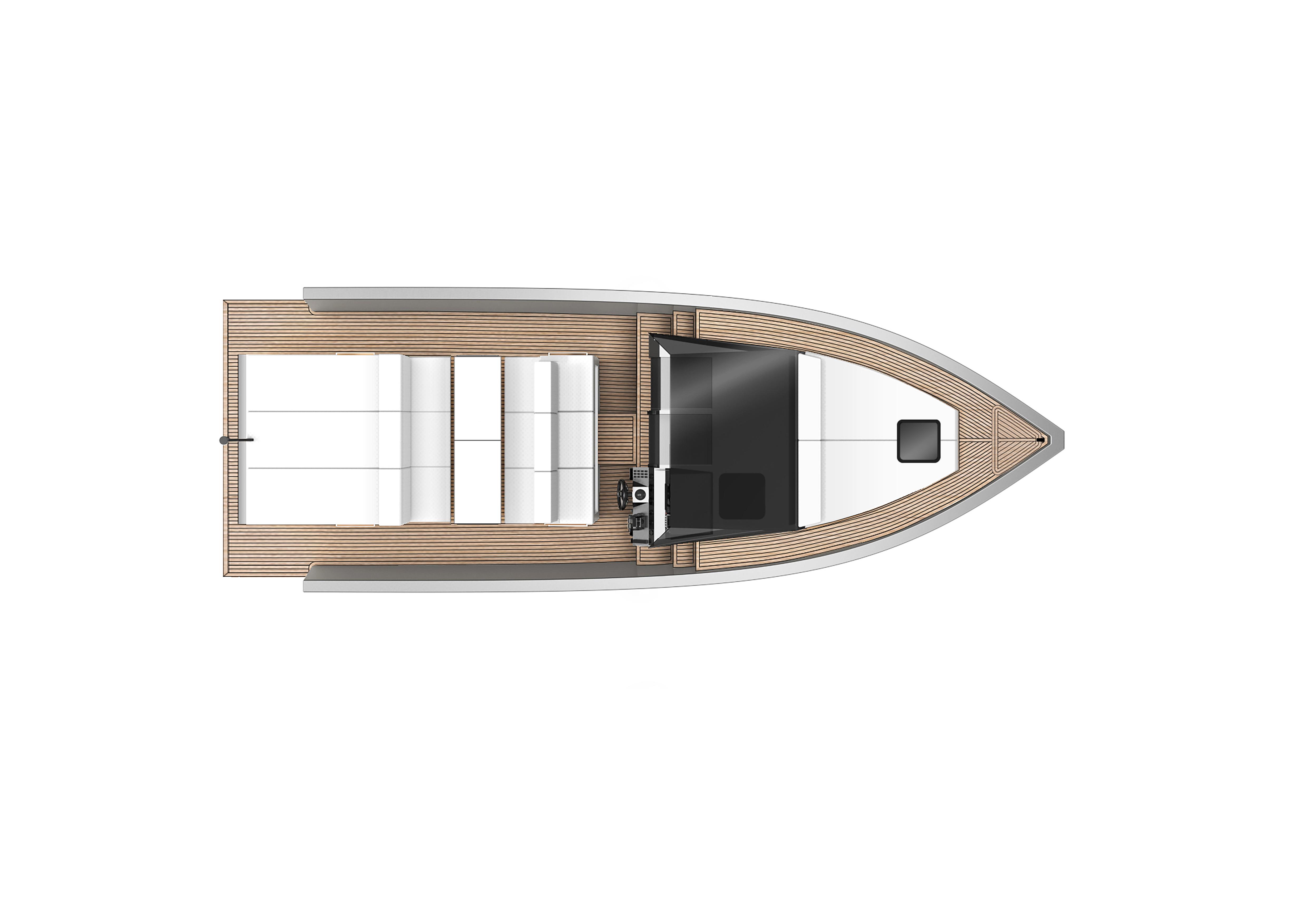 De Antonio Yachts_D33 Cruiser_Planta_01