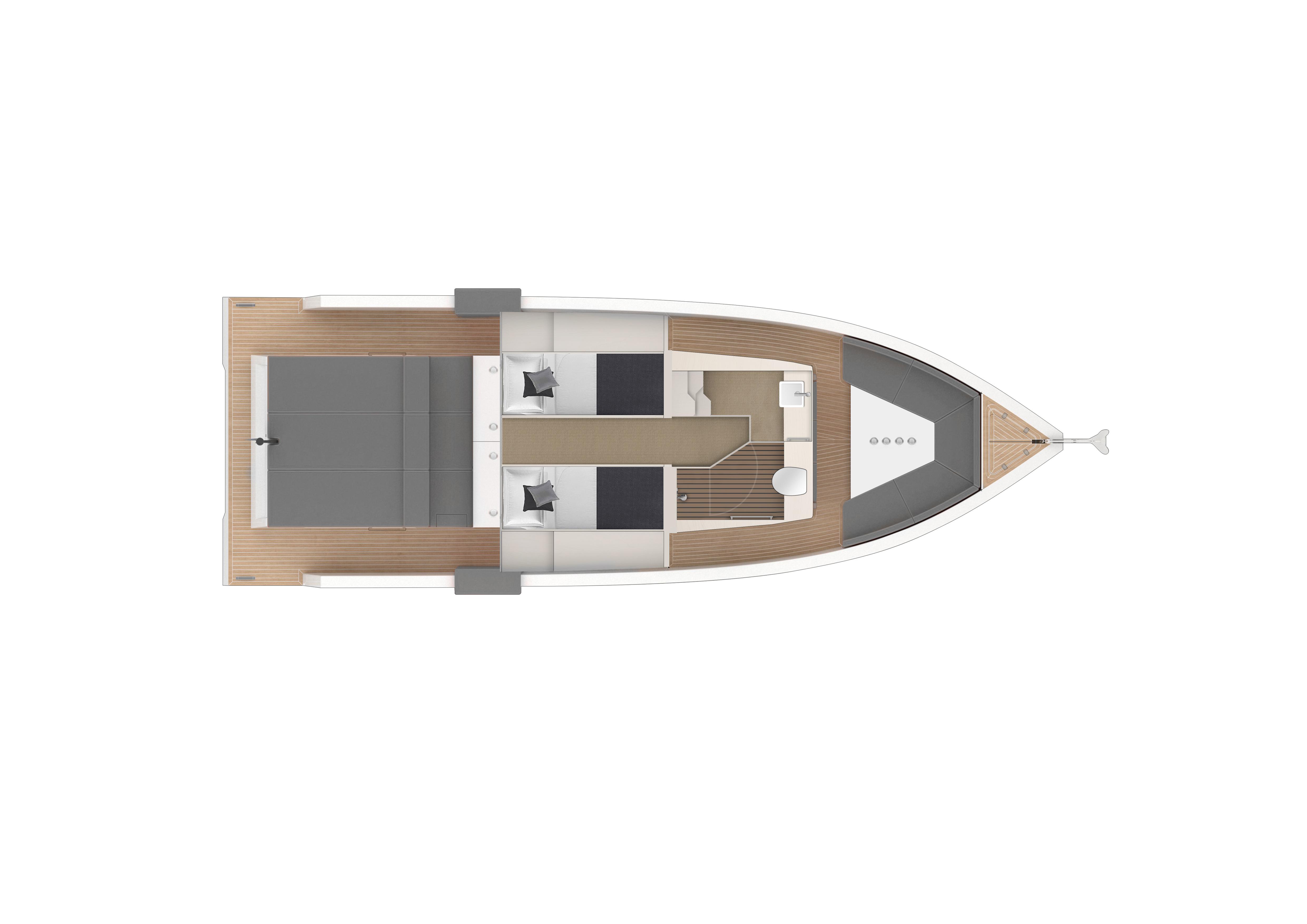 De Antonio Yachts_D33 Open_Planta_02