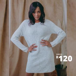 JERSEY DRESS R120