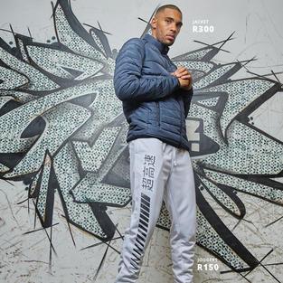 Jacket R300 | Joggers R150