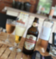 Dryck på dukat bord