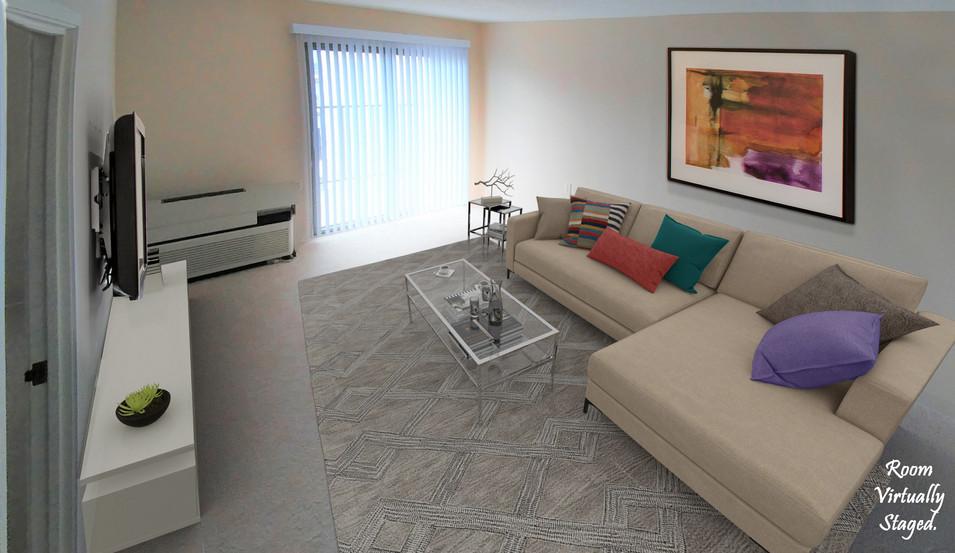 One Bedroom Livingroom view