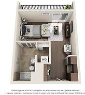 Center Square Apartments Premier Studio