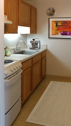 Classic One Bedroom Kitchen