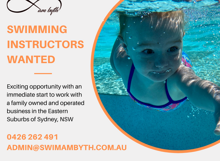 Swimming Instructor - Eastern Suburbs of Sydney, NSW
