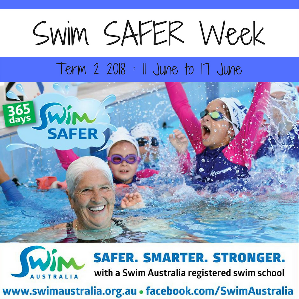 swim safer week term 2 2018