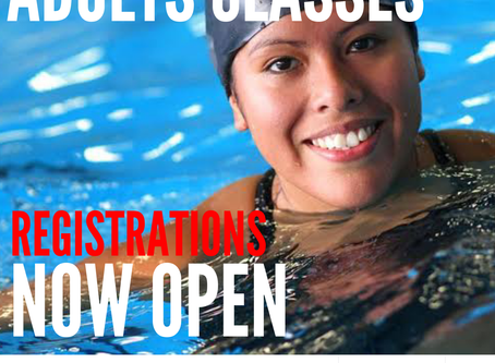 🏊🏻‍♂️ THURSDAY ADULT CLASSES @ SWIM AM BYTH - GARDENS POINT 🏊🏻‍♀️