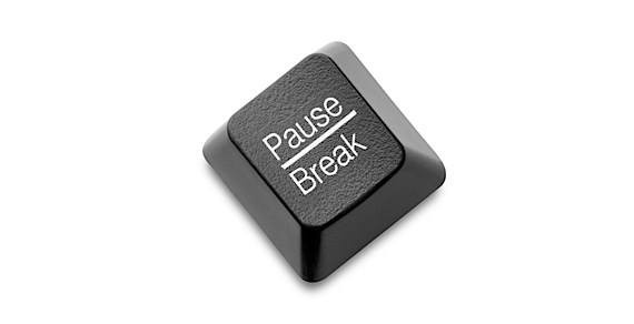 pause break button