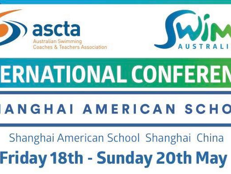 What Swim am byth team member is presenting at the ASCTA International Conference today in Shanghai?