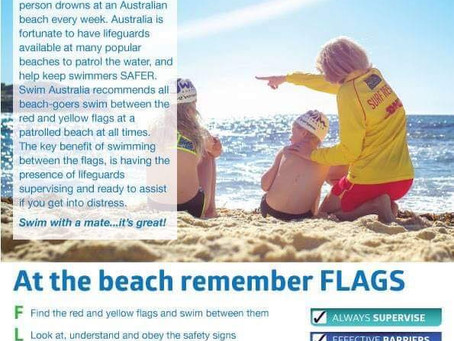 Information sheet: at the beach