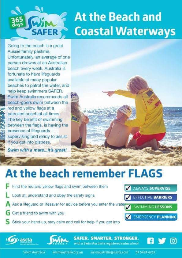 beach information sheet