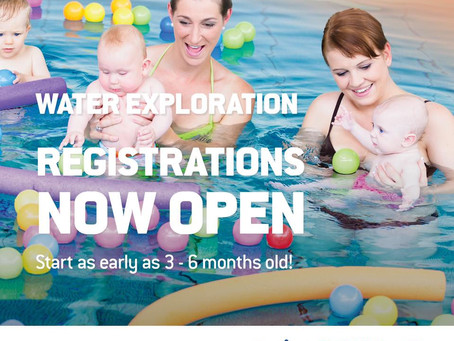 Free swimming for all babies under 6 months old!