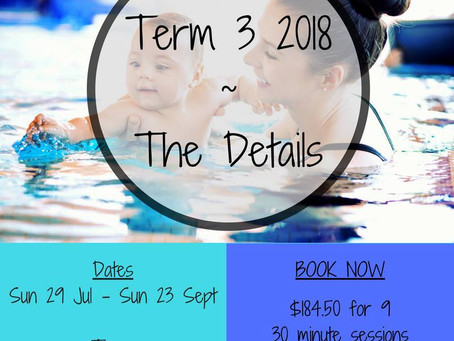 Come and join us for Term 3 2018!