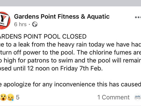 Swim am byth - Gardens Point: Closed