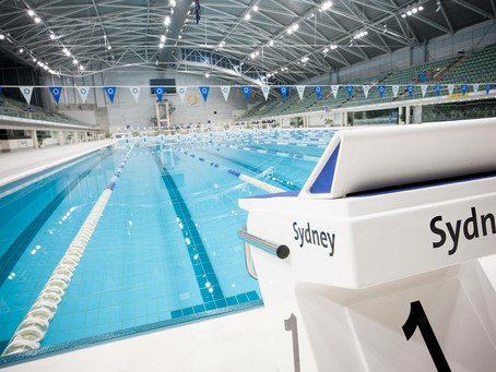 What swimming event starts today at Sydney Olympic Park?