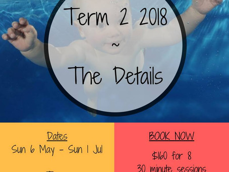 Come and join us for Term 2 2018!