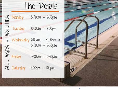 Swim am byth - Kelvin Grove: Term 1 2020 Details