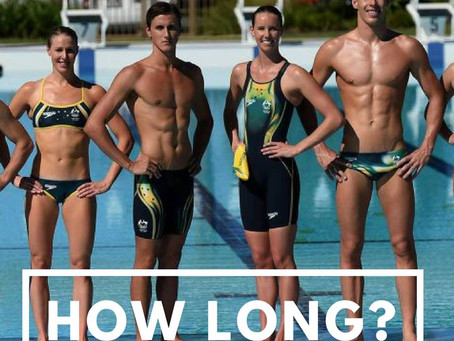How long does it take for talented athletes to achieve sporting excellence?