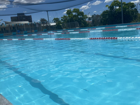 First Day for Kelvin Grove State College Swimmers