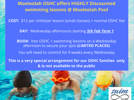 Working with Mooloolah OSHC!