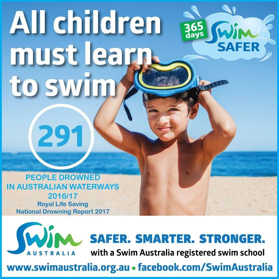 Swim Australia - All children must learn to swim