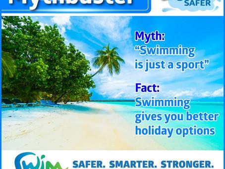 Swim Australia Mythbuster Series: Swimming is Just a Sport