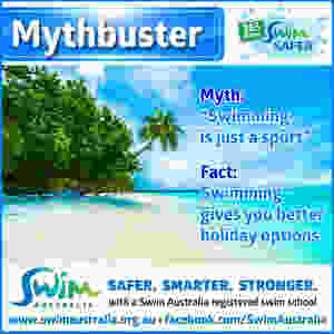 Mythbuster - Swimming is just a sport