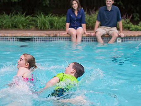If my 4 year old child can swim, do I need to still supervise them?