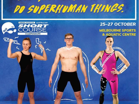 The 2018 Australian Short Course Championships in Melbourne!