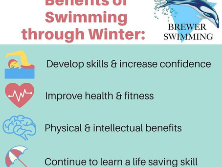 Such amazing benefits . . . why wouldn't you keep swimming!?!