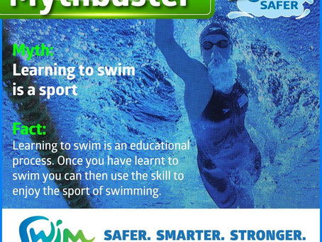 Swim Australia Mythbuster Series: Learning to swim is a sport