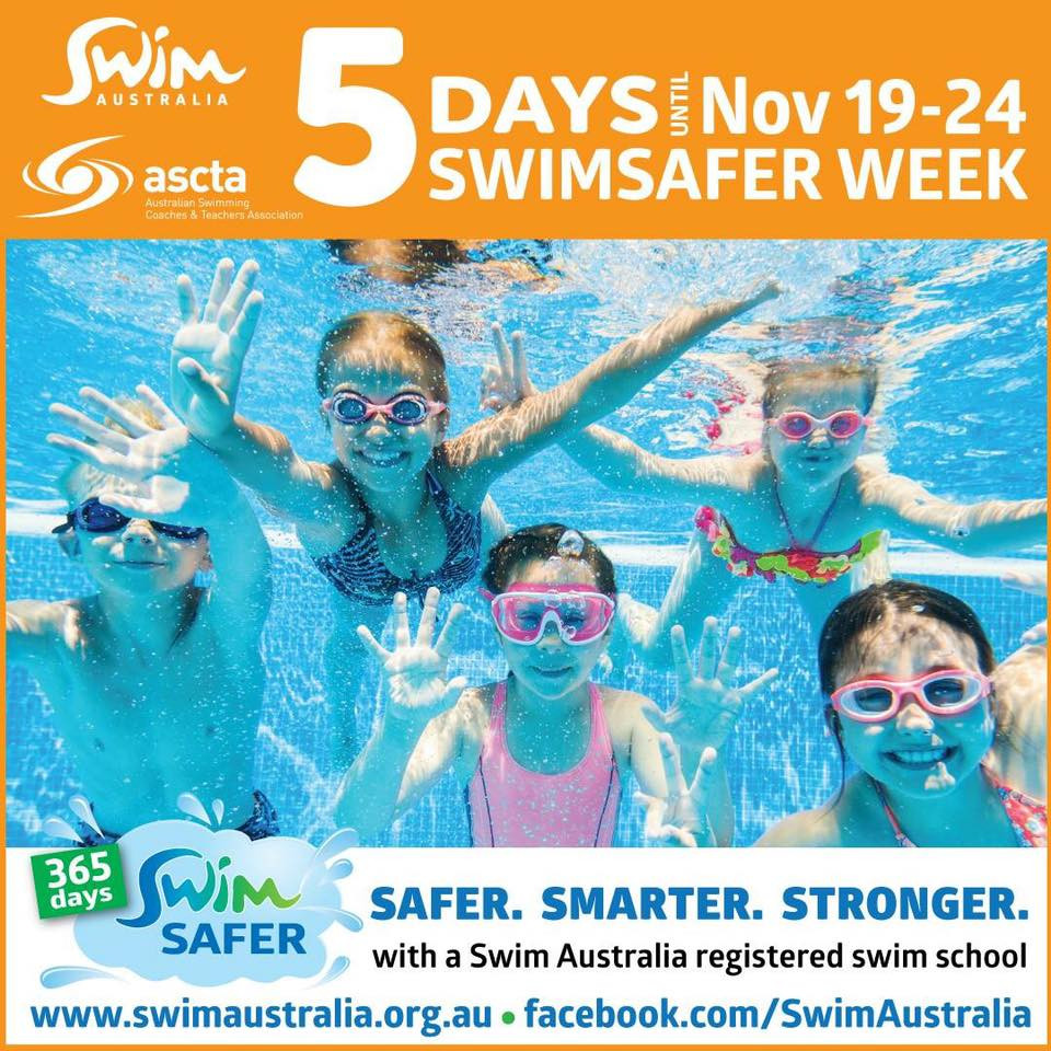 5 days until swimsafer week 2018