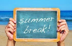 summer break sign