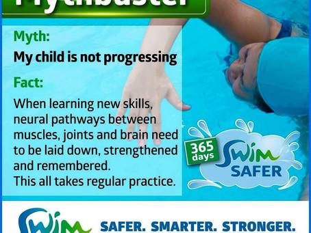 Swim Australia Mythbuster Series: My child is not progressing
