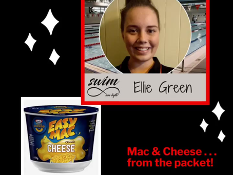 Swim am byth - Kelvin Grove team . . . What is your favourite food?