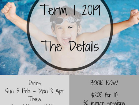 Come and join us for Term 1 2019!